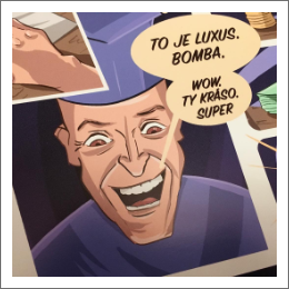 Příběh komiksu